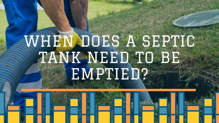 When does a septic tank need to be emptied